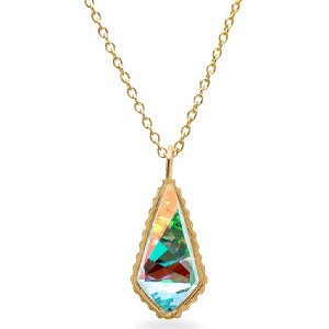 Sloane Necklace Rose Gold Crystal AB