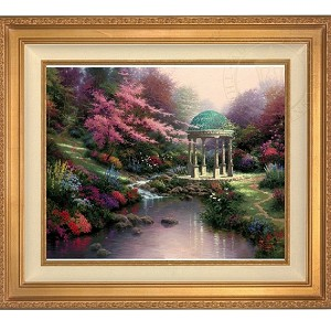 Thomas Kinkade Pools of Serenity 24 30 Framed