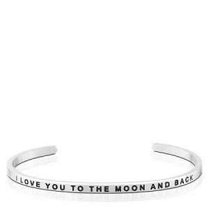 I Love You To The Moon And Back Silver