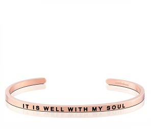 It Is Well With My Soul Rose Gold